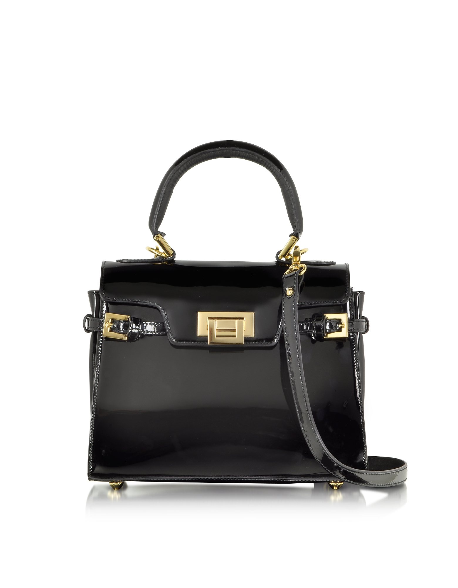 Fontanelli Handbags, Little Black Handbag