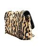Calfhair Leopard Print Shoulder Bag - Fontanelli