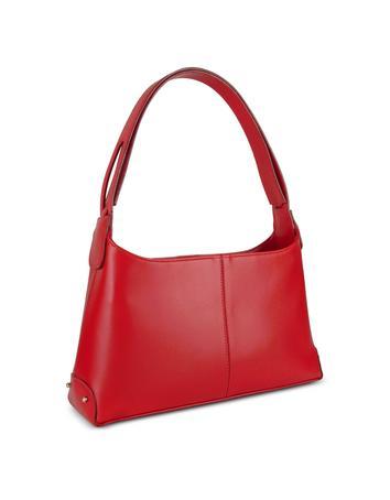 Foto der Handtasche Fontanelli Klassische Handtasche aus italienischem Leder in rot