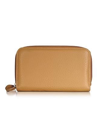 Fontanelli - Leather Zip-Around Wallet
