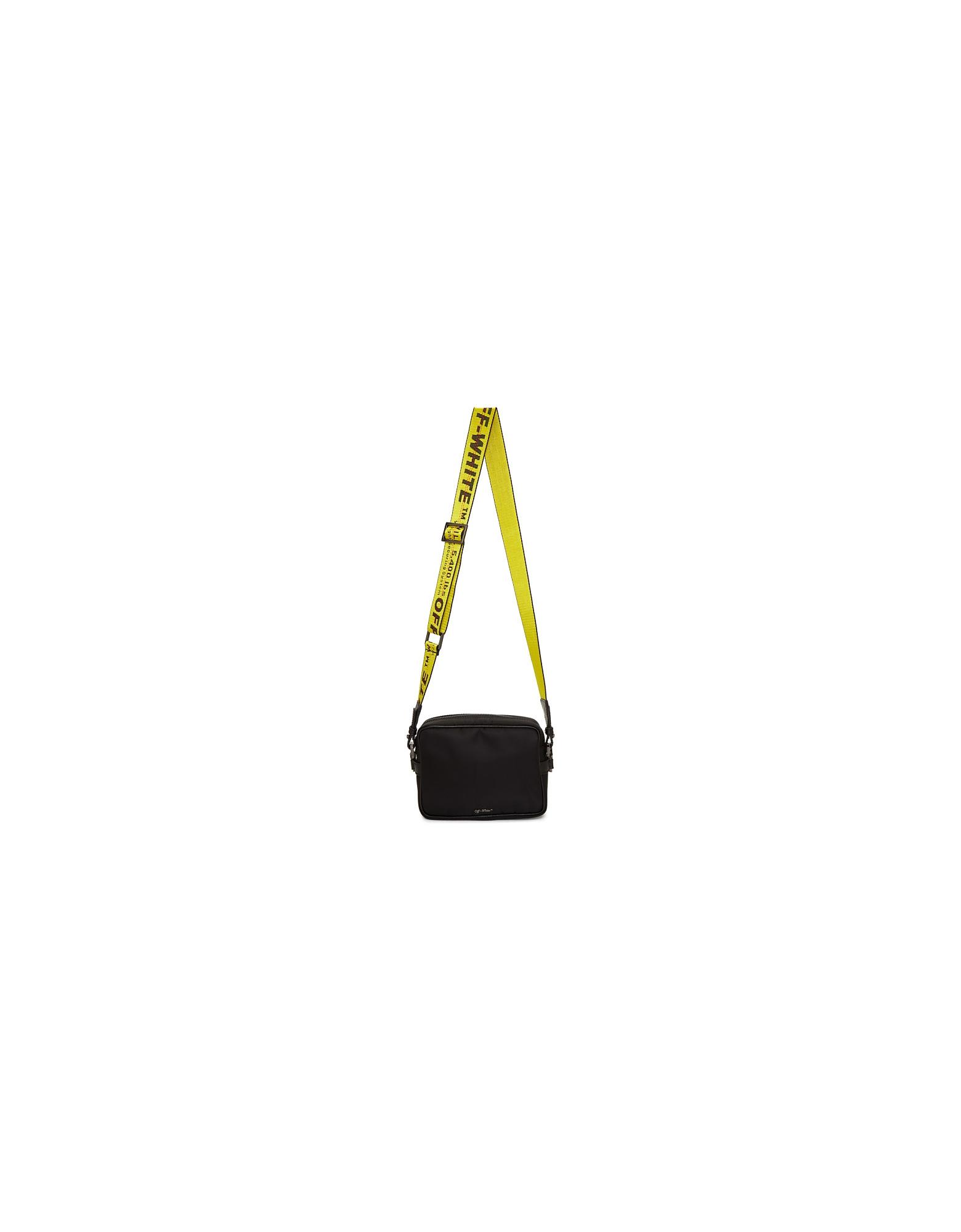 Off-White Designer Handbags, Black Crossbody Bag