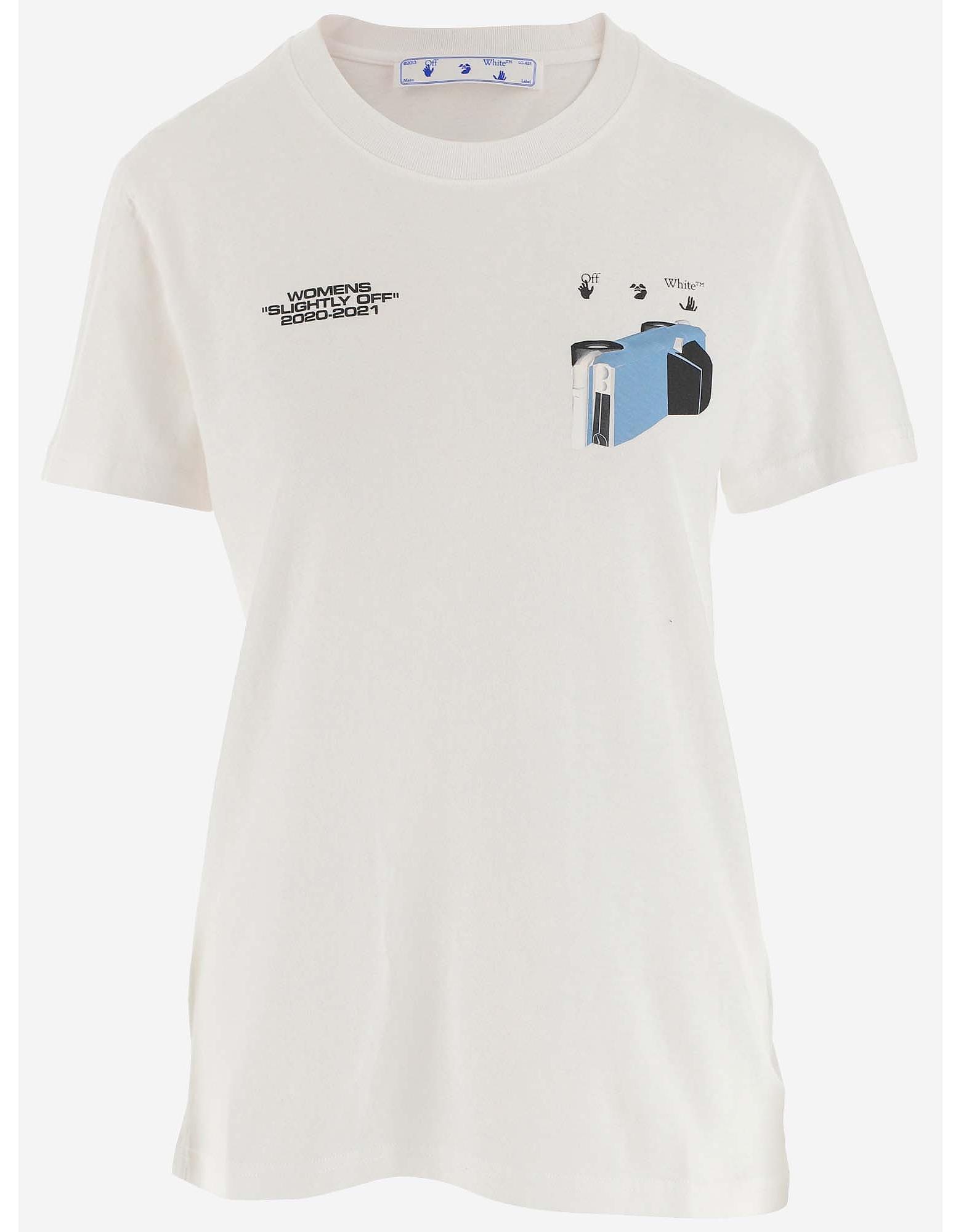 Off-White Designer T-Shirts & Tops, Women's T-Shirt