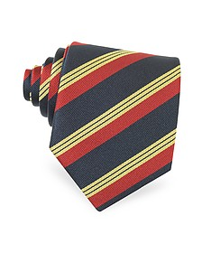 Regimental Silk Tie - Forzieri
