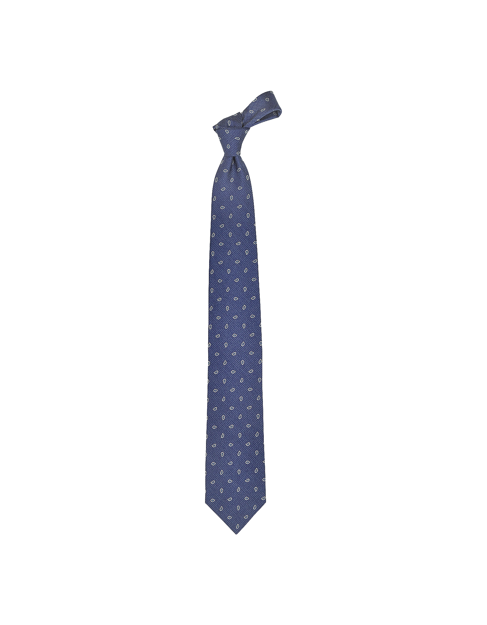 Small Paisley Woven Silk Tie от Forzieri.com INT