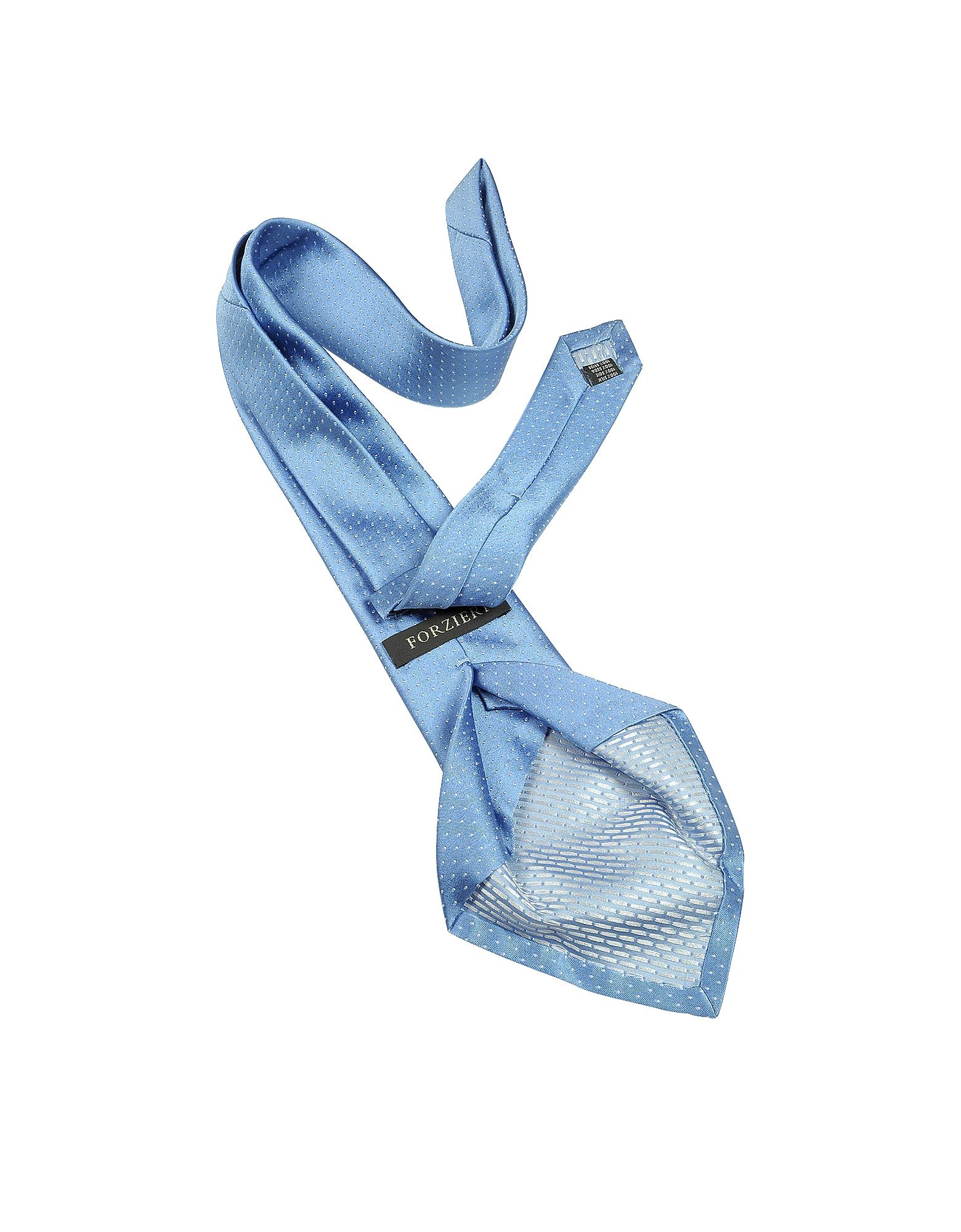 Mini Dot Seven Fold Woven Silk Tie от Forzieri.com INT