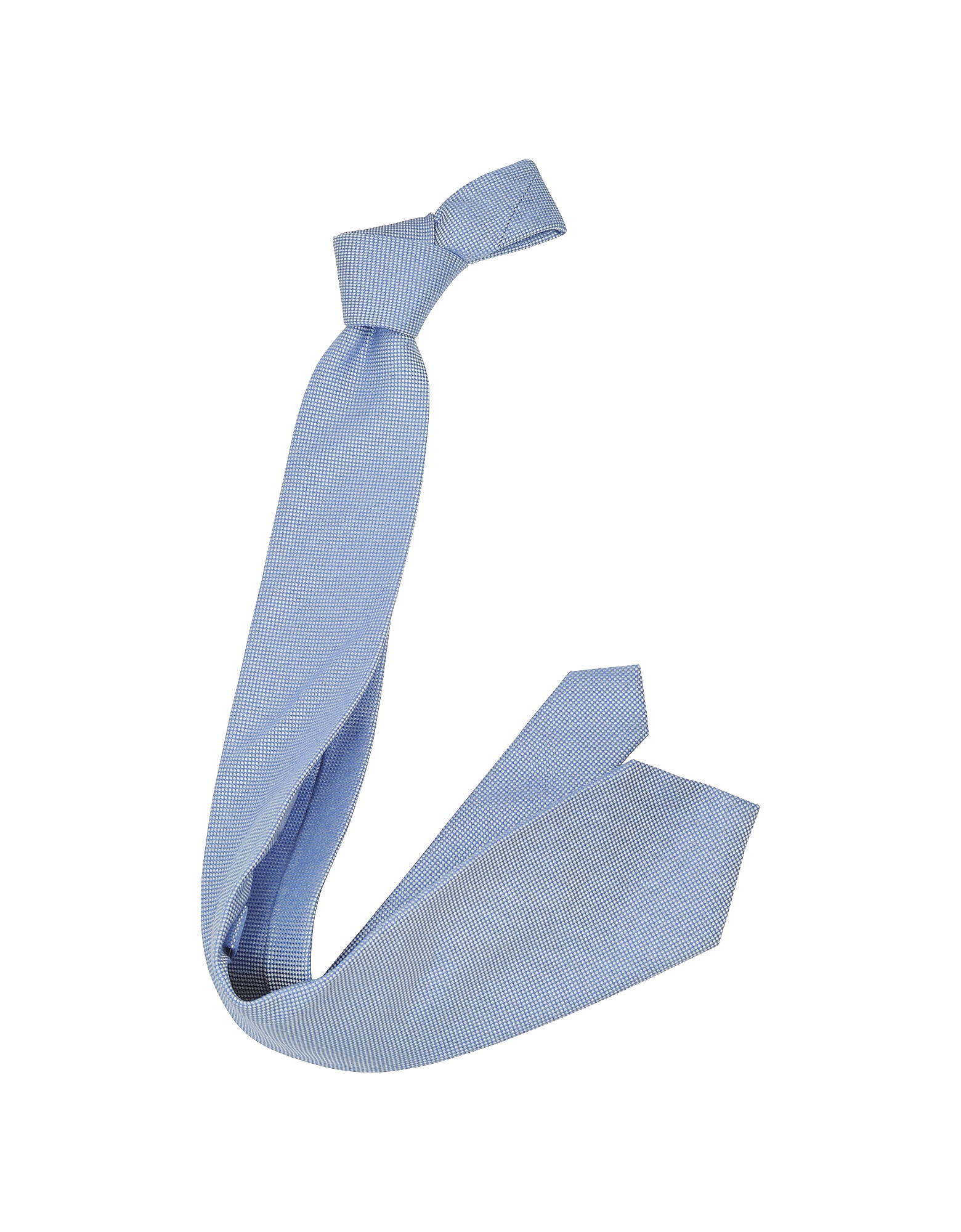 Light Blue Woven Silk Tie от Forzieri.com INT