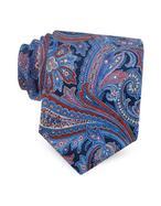 Forzieri Cravatta in Pura Seta Stampata