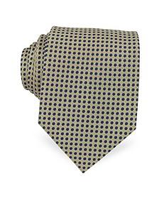 Cravate en Soie à Petits Pois - Forzieri