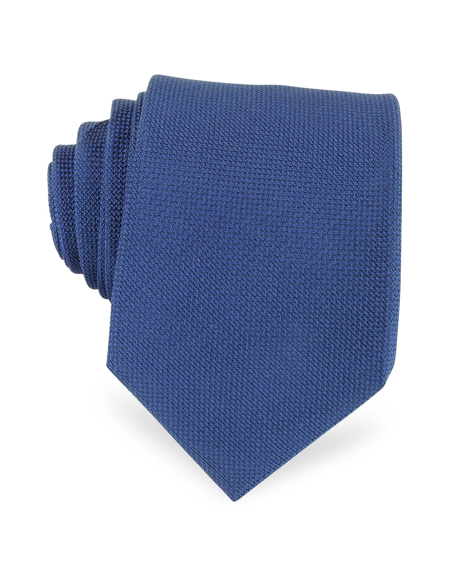 Forzieri Ties, Solid Woven Silk Tie