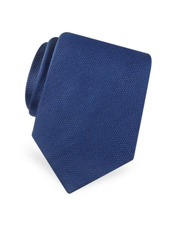 Gold Line Solid Classic Woven Silk Tie