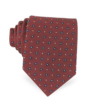 Forzieri Cravate à imprimé pois