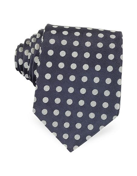 Foto Forzieri Cravatta in Seta a Maxi Pois Cravatte