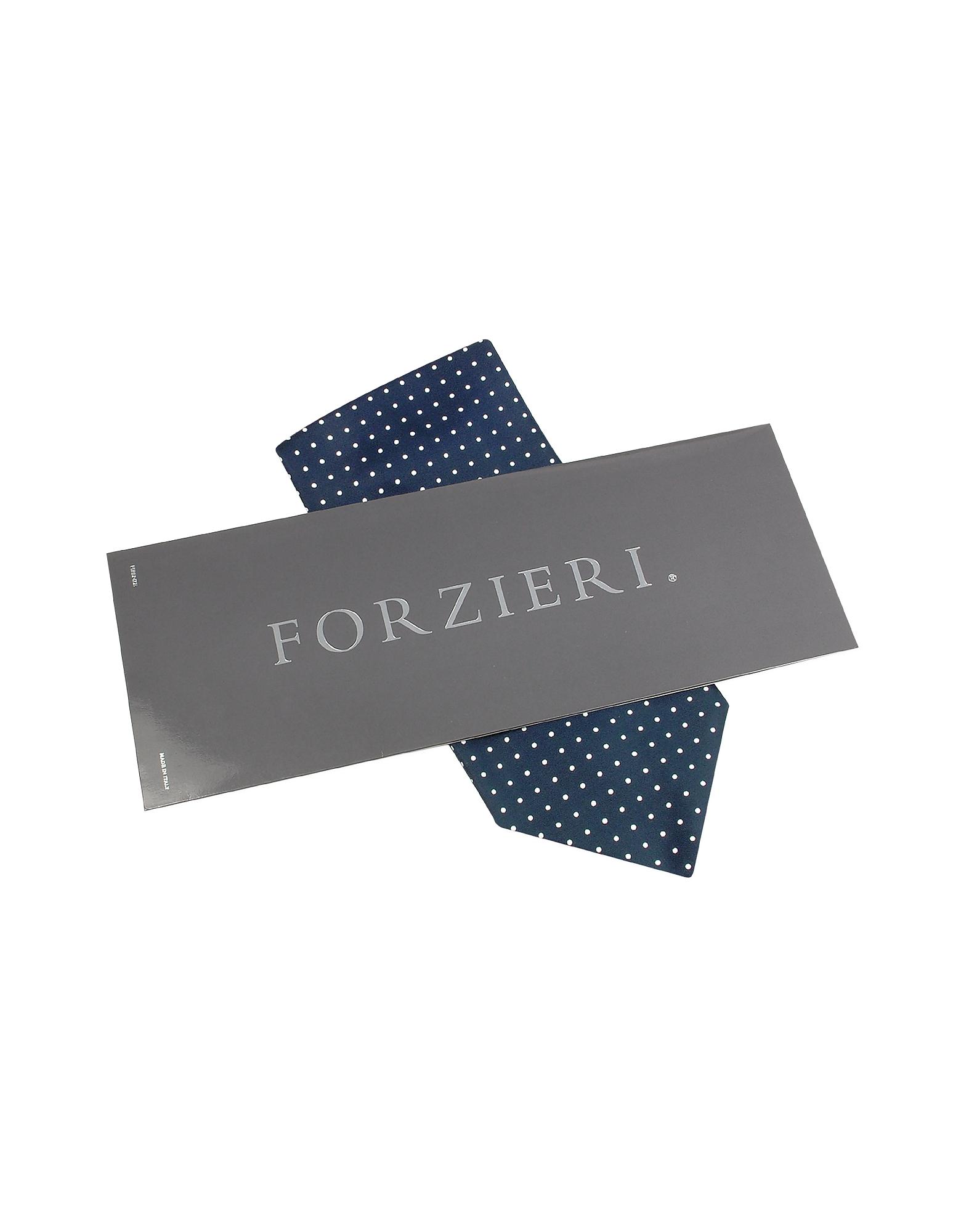 Polkadot Printed Twill Silk Ascot от Forzieri.com INT