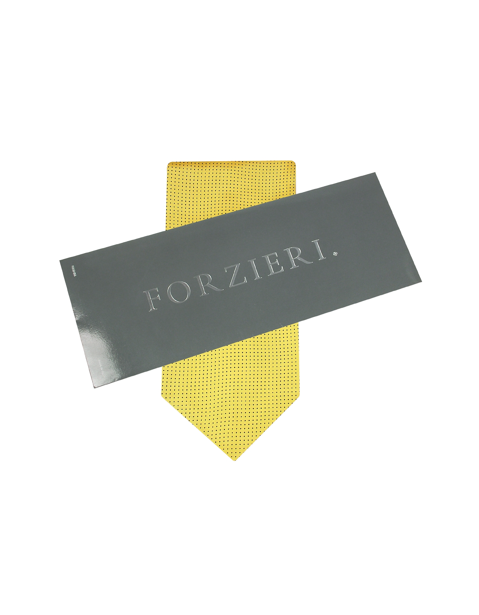 Mini Polkadot Yellow Silk Ascot от Forzieri.com INT