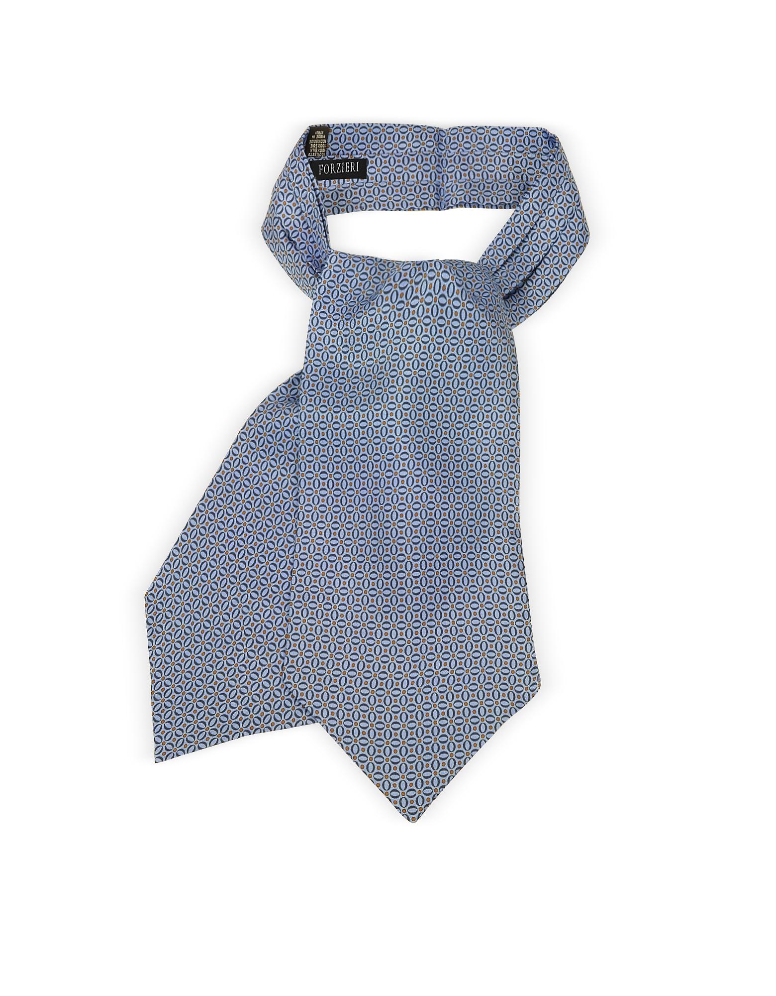 Forzieri Ascot ties, Optical Print Silk Tie Ascot