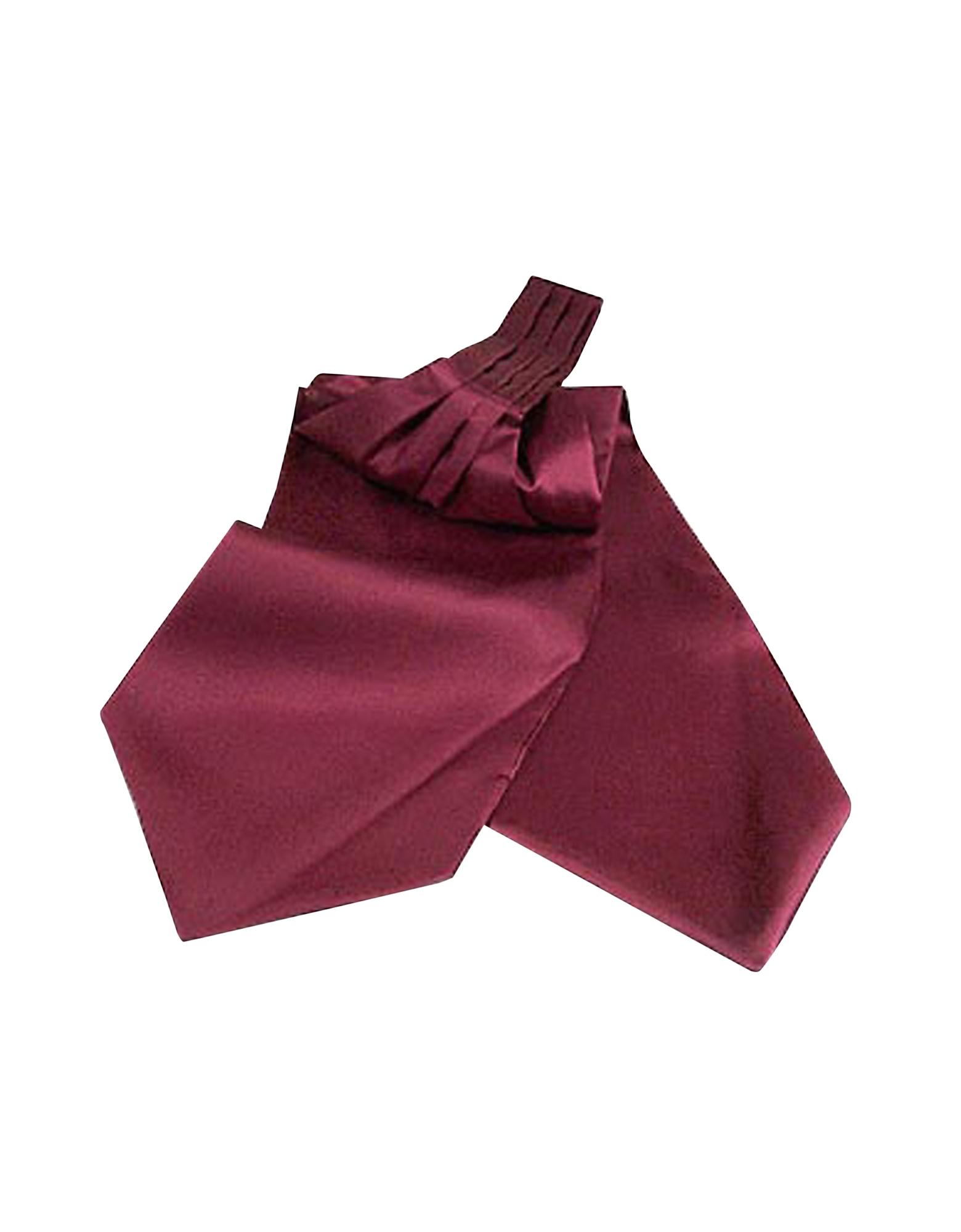 Forzieri Designer Ascot ties, Solid Silk Ascot