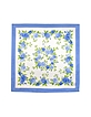 Blooming Roses Printed Silk Square Scarf - Forzieri