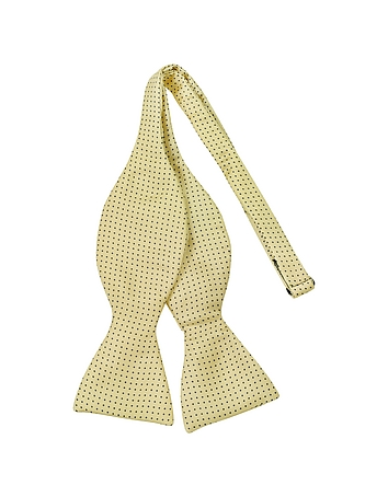 Forzieri - Small Polkadot Self-tie Silk Bowtie