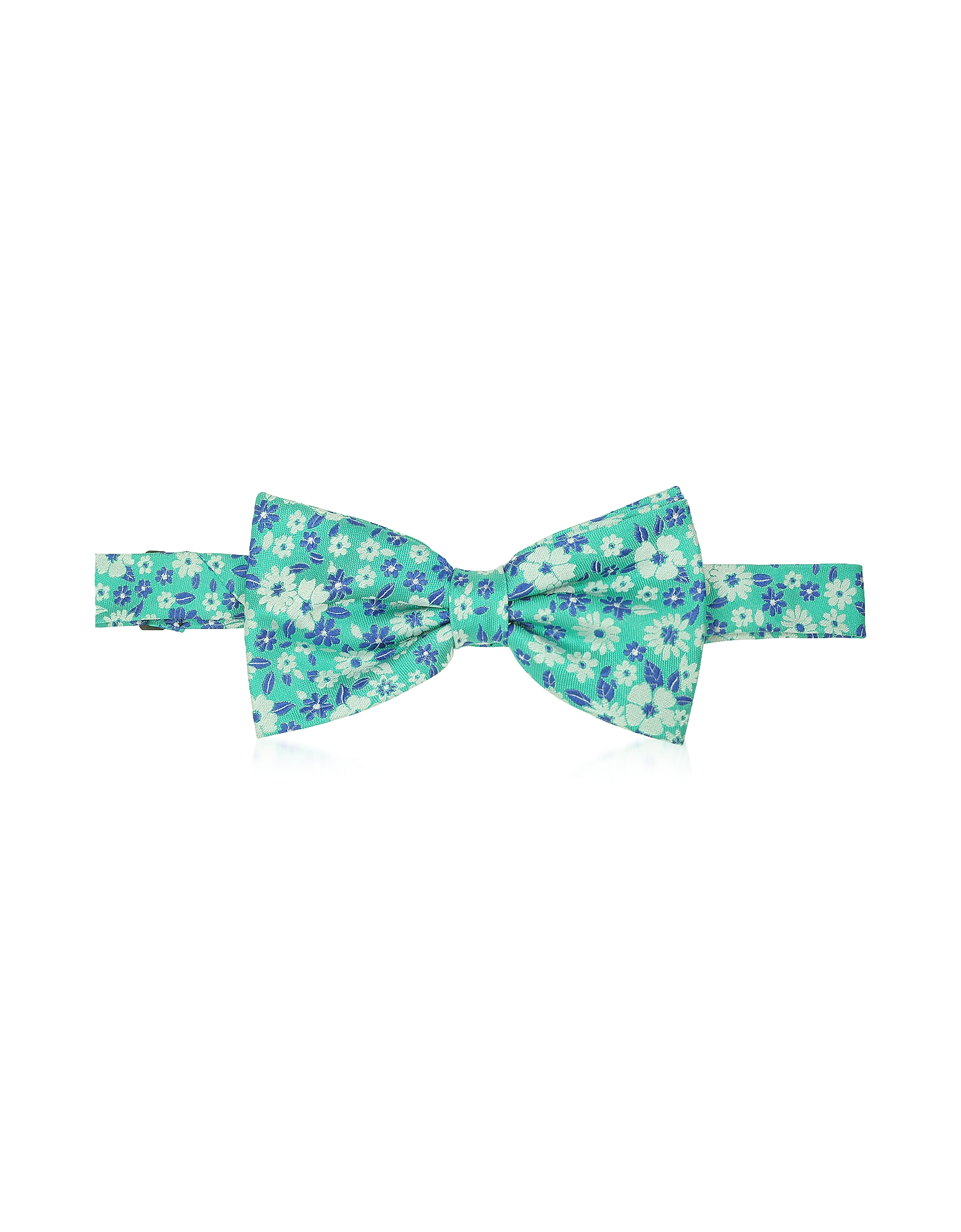 Floral Woven Silk Pre-tied Bowtie от Forzieri.com INT