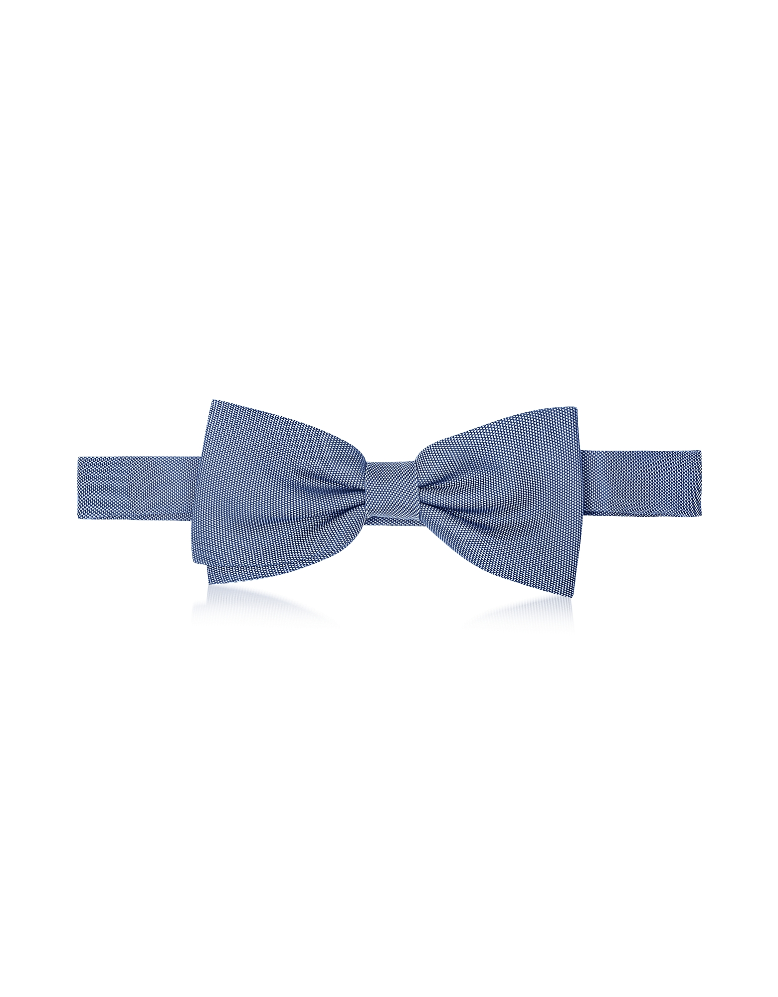 Forzieri Bowties and Cummerbunds, Woven Silk Pre-tied Bow Tie