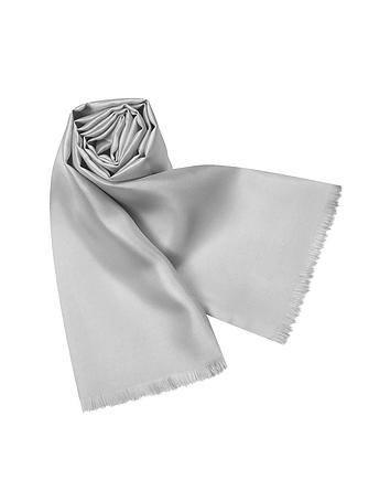Forzieri - Solid Silk Scarf