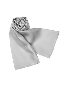 Echarpe en soie unie - Forzieri