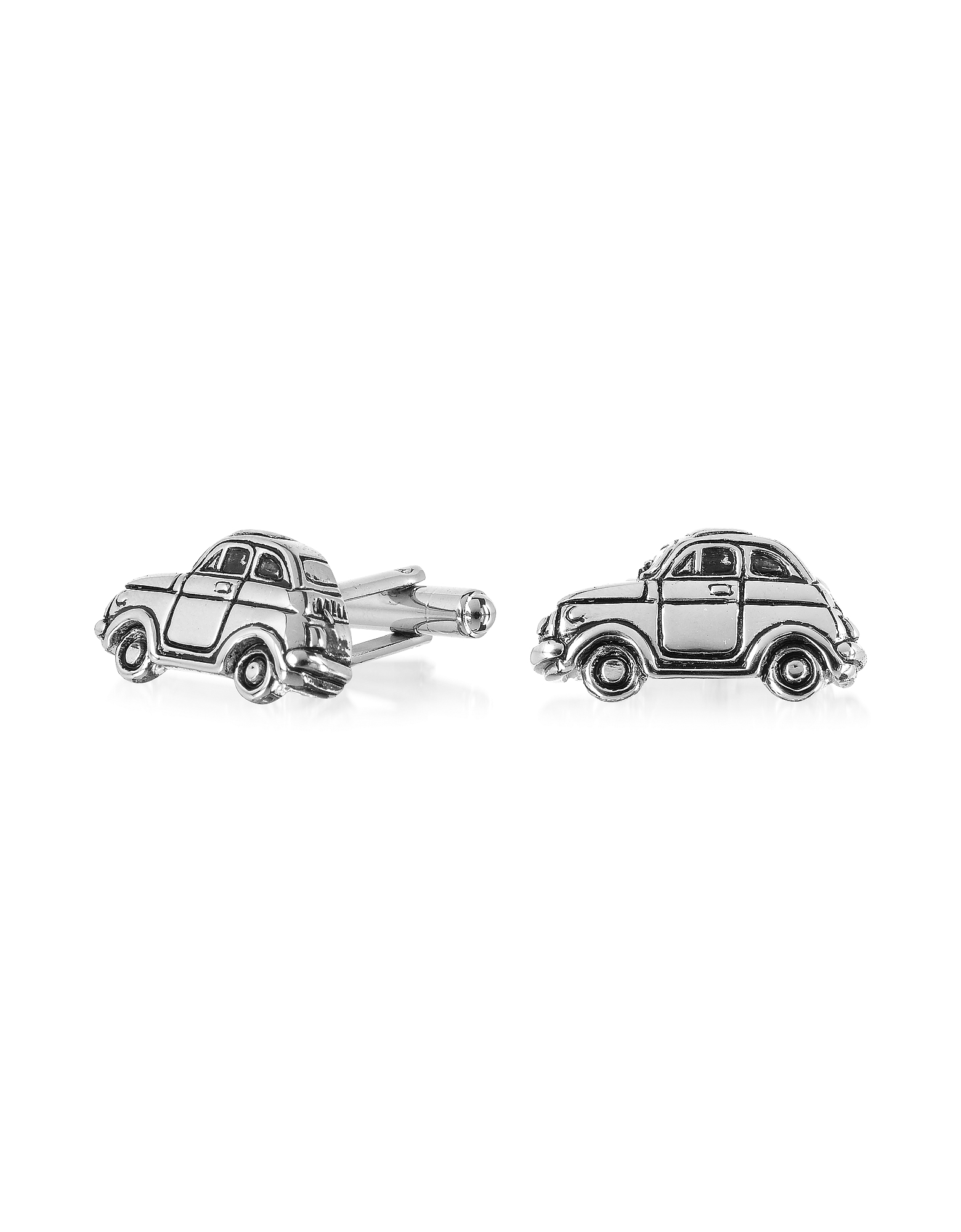 Forzieri Designer Cufflinks, Old Style - Car Cufflinks
