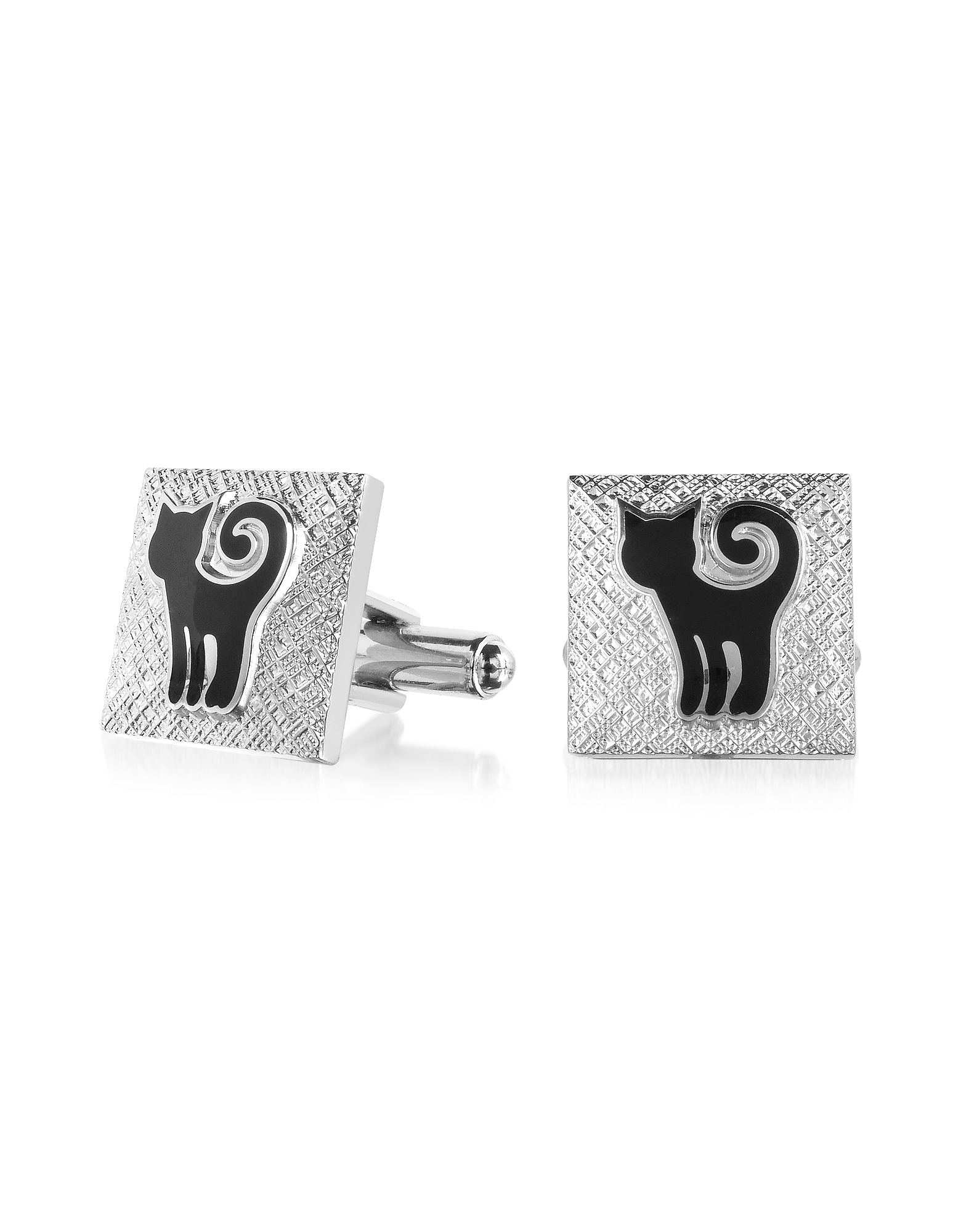 Fashion Garden - Cat Square Cufflinks от Forzieri.com INT