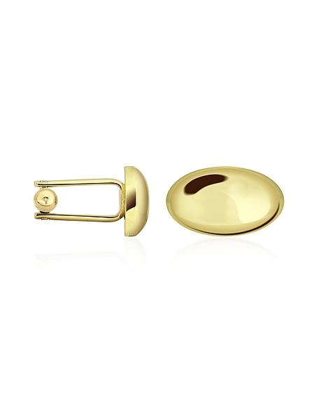 Forzieri Gemelli ovali in oro placcato