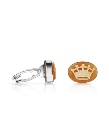 Mia & Beverly - Cornelian Crown Cufflinks