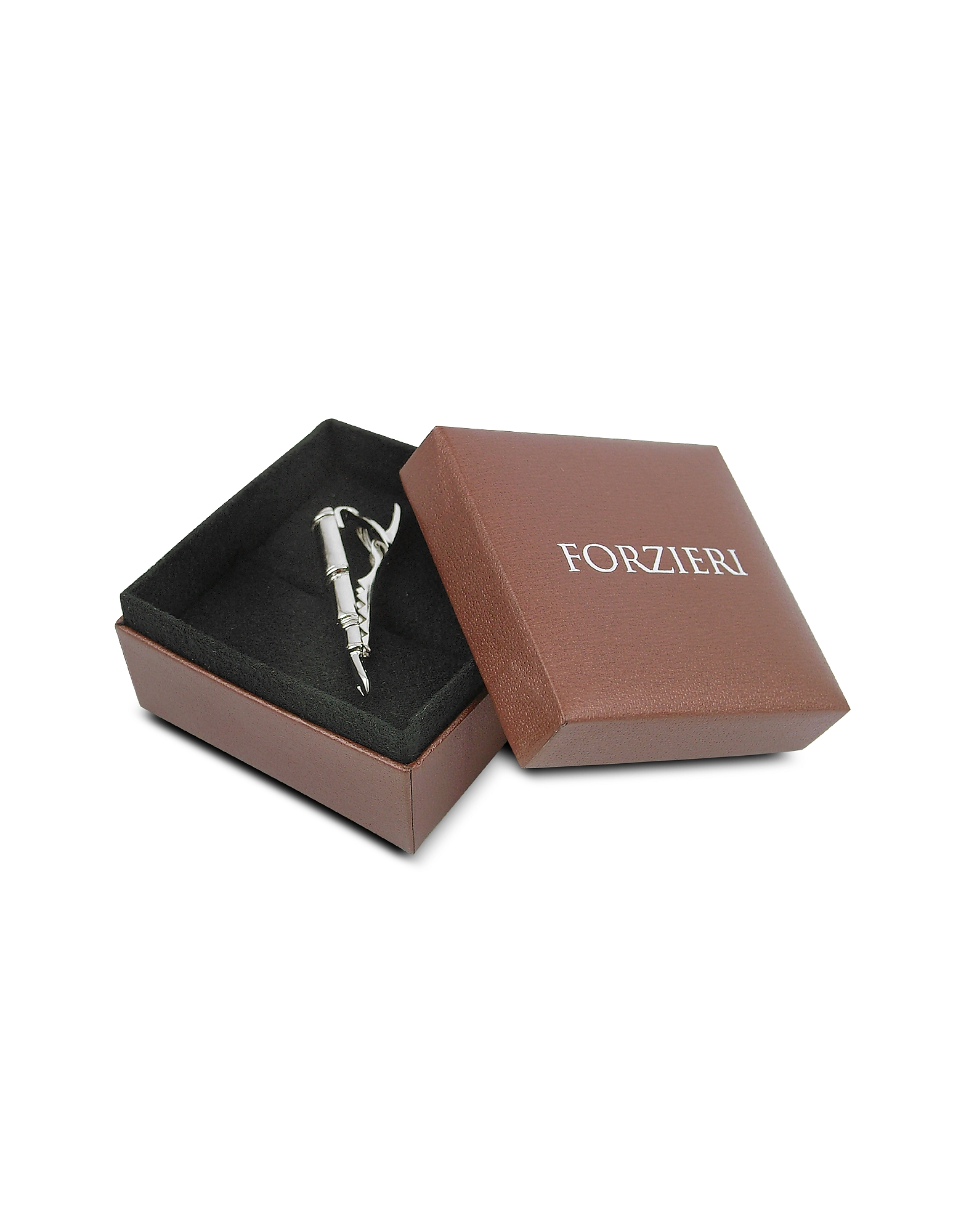 Fountain Pen Silver Plated Tie Clip от Forzieri.com INT
