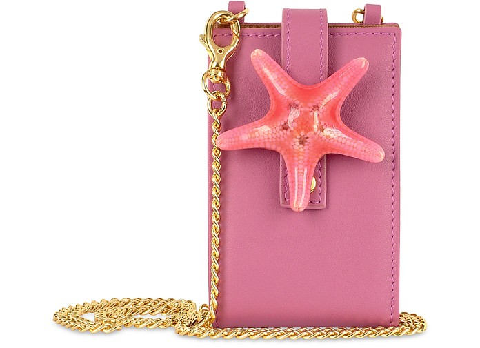 Seastar  - Italian Leather iPod Holder w/Chain Strap - Forzieri