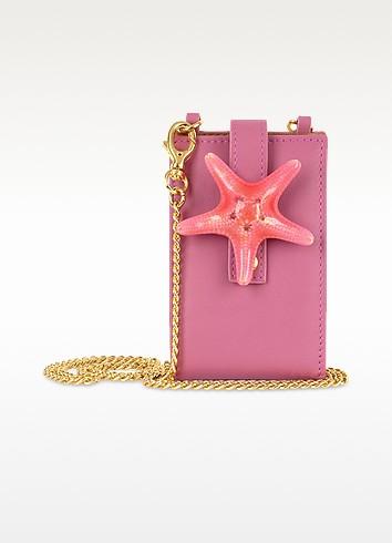 Seastar  - Italian Leather iPod Holder w/Chain Strap - Forzieri
