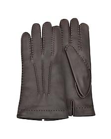 Herren-Handschuhe aus Hirschleder mit Kaschmirfutter - Forzieri