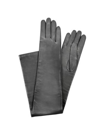 Lux-ID 209972 Silk-Lined Leather Gloves