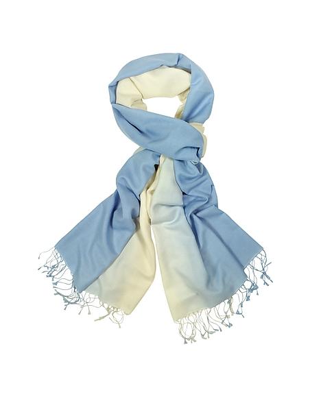 Forzieri Schal aus Paschmina und Seide in zwei farbig