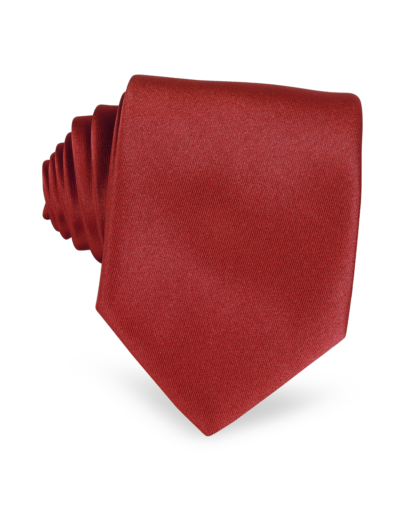 Solid Red Extra-Long Tie