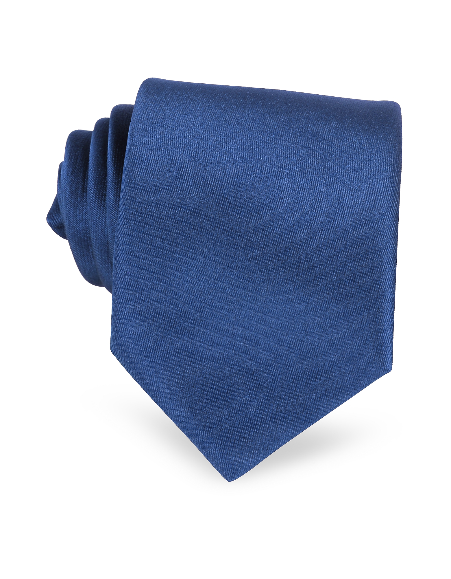 Solid Navy Blue Extra-Long Tie