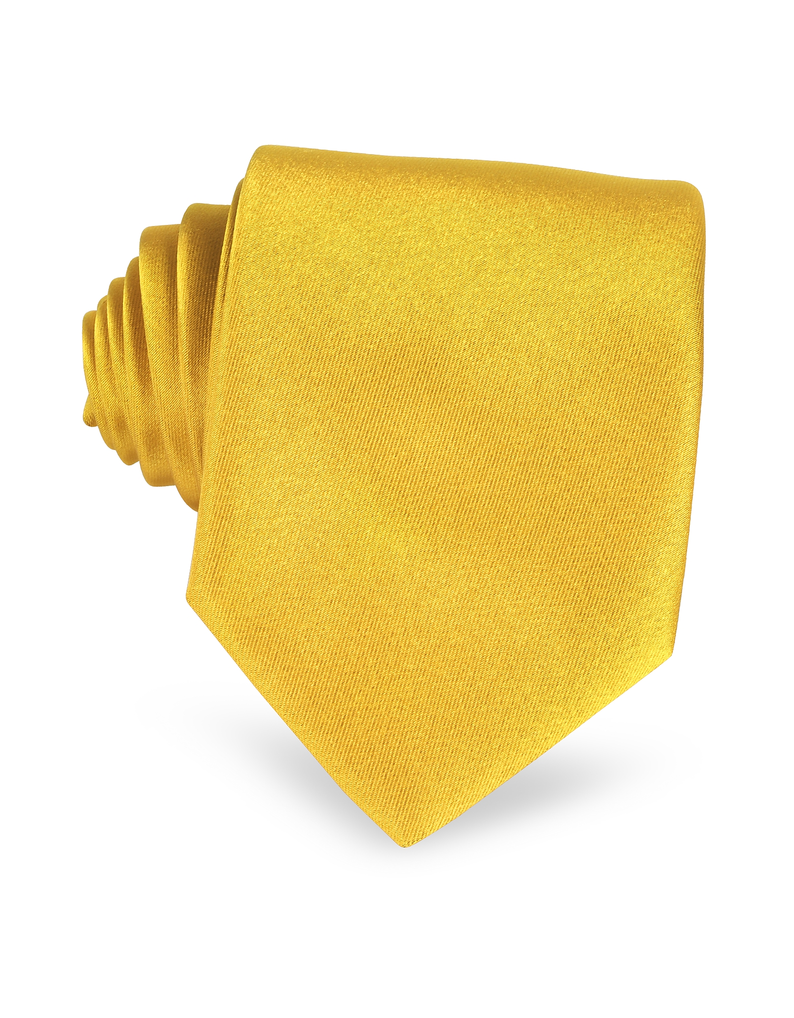 Solid Golden Yellow Extra-Long Tie