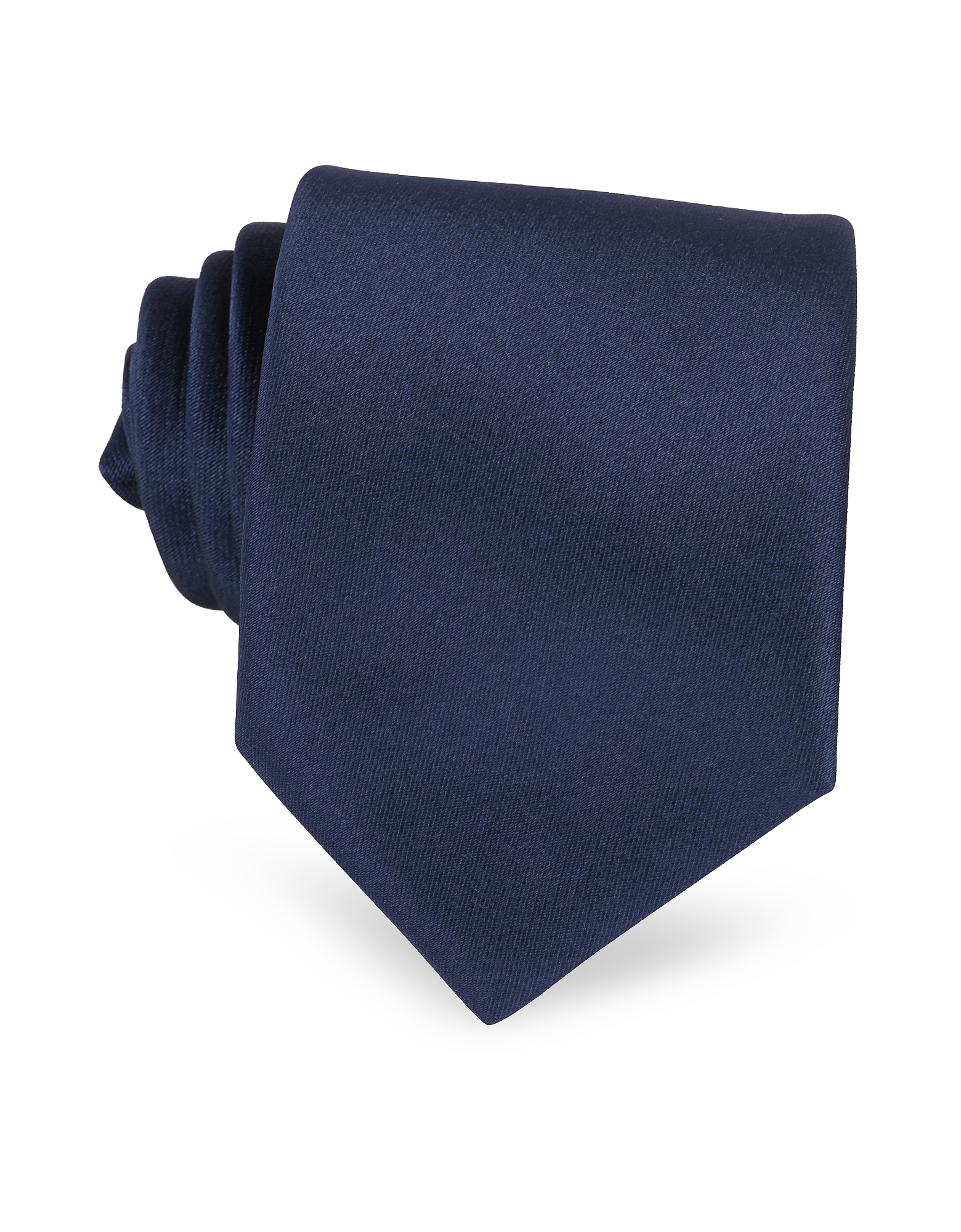 Solid Dark Blue Extra-Long Tie