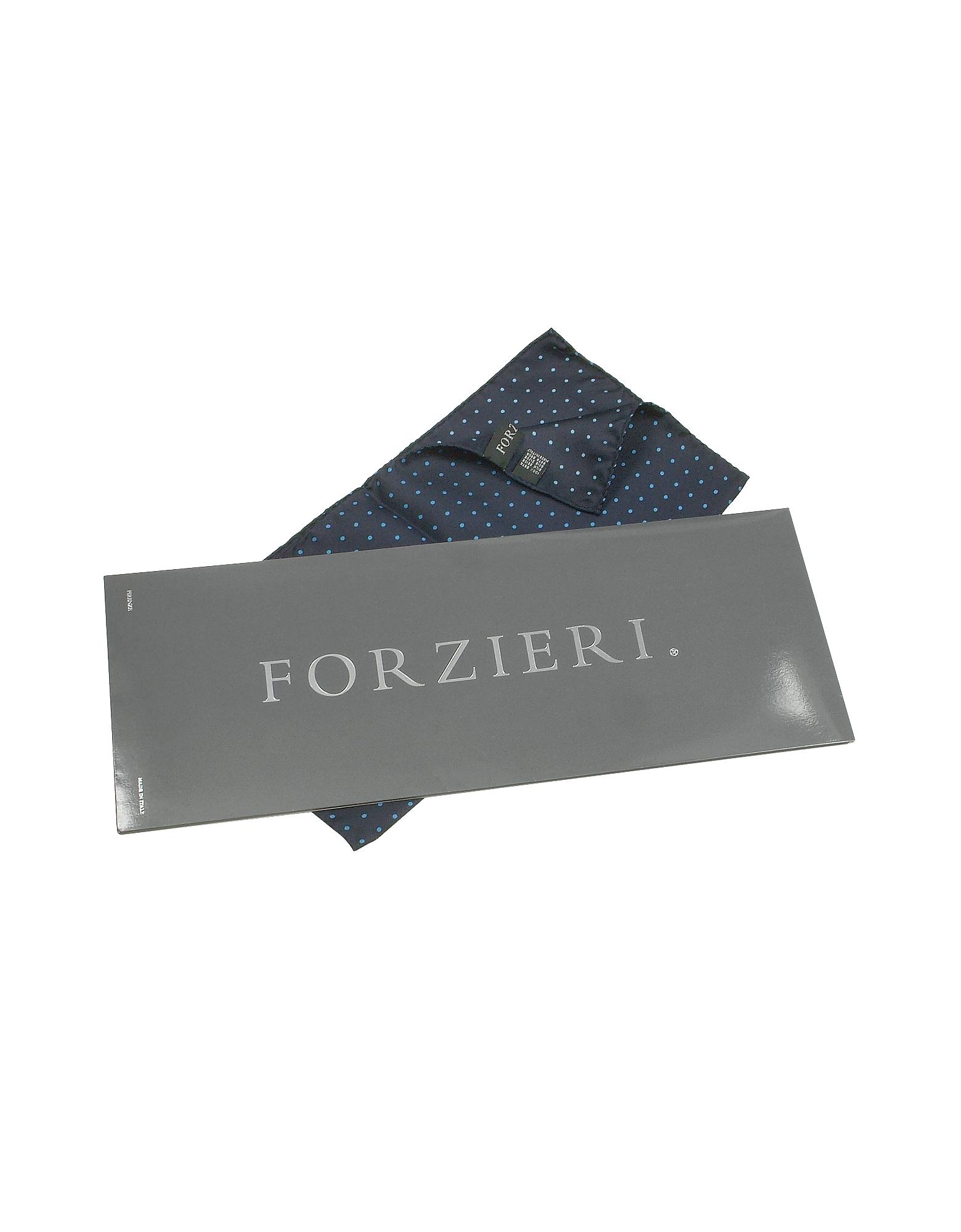 Polkadot Twill Silk Pocket Square от Forzieri.com INT