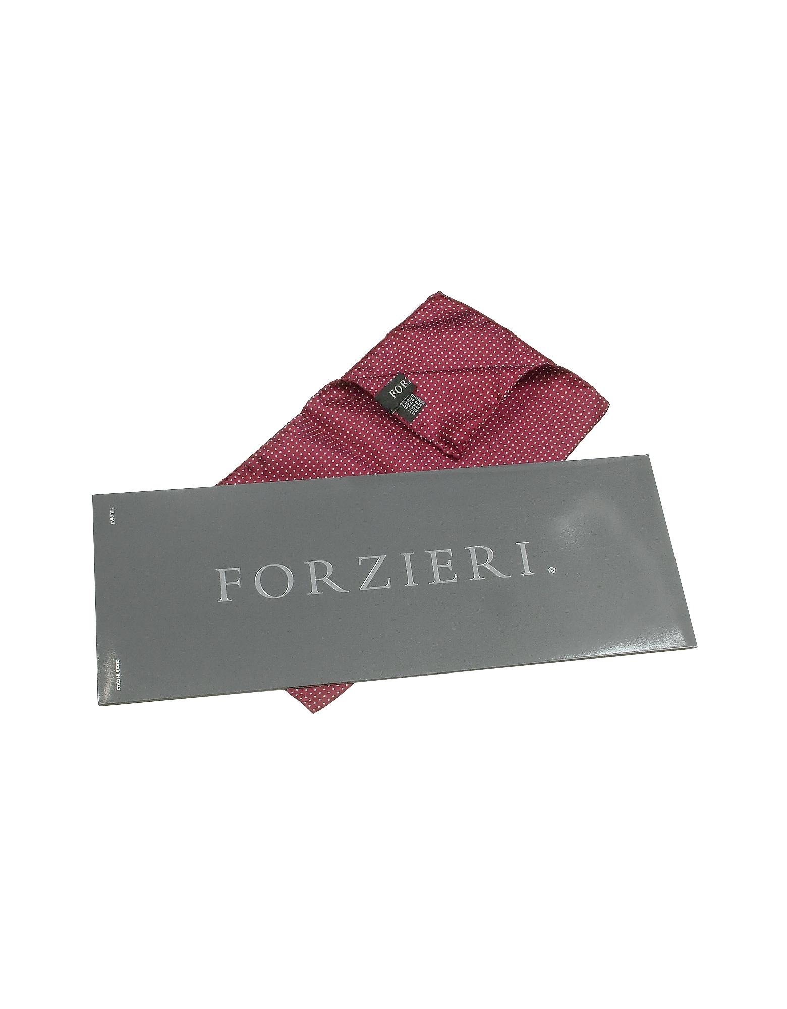 Mini Polkadot Twill Silk Pocket Square от Forzieri.com INT