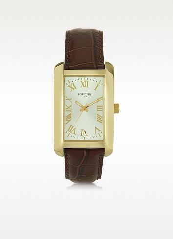 Tina Golden Stainless Steel Women's Watch - Forzieri