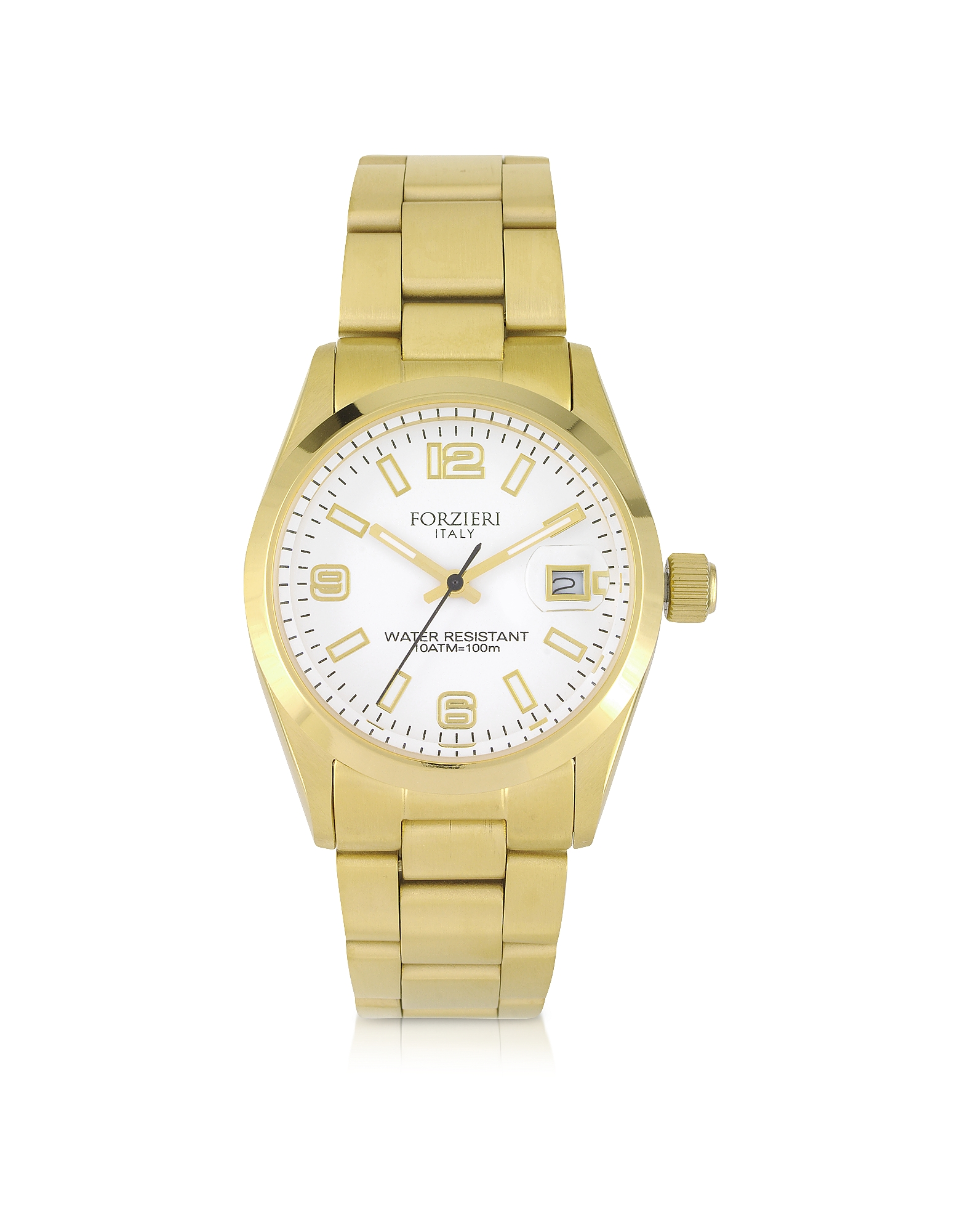 Forzieri Designer Women's Watches, Roger Mini Golden Stainless Steel Women's Watch