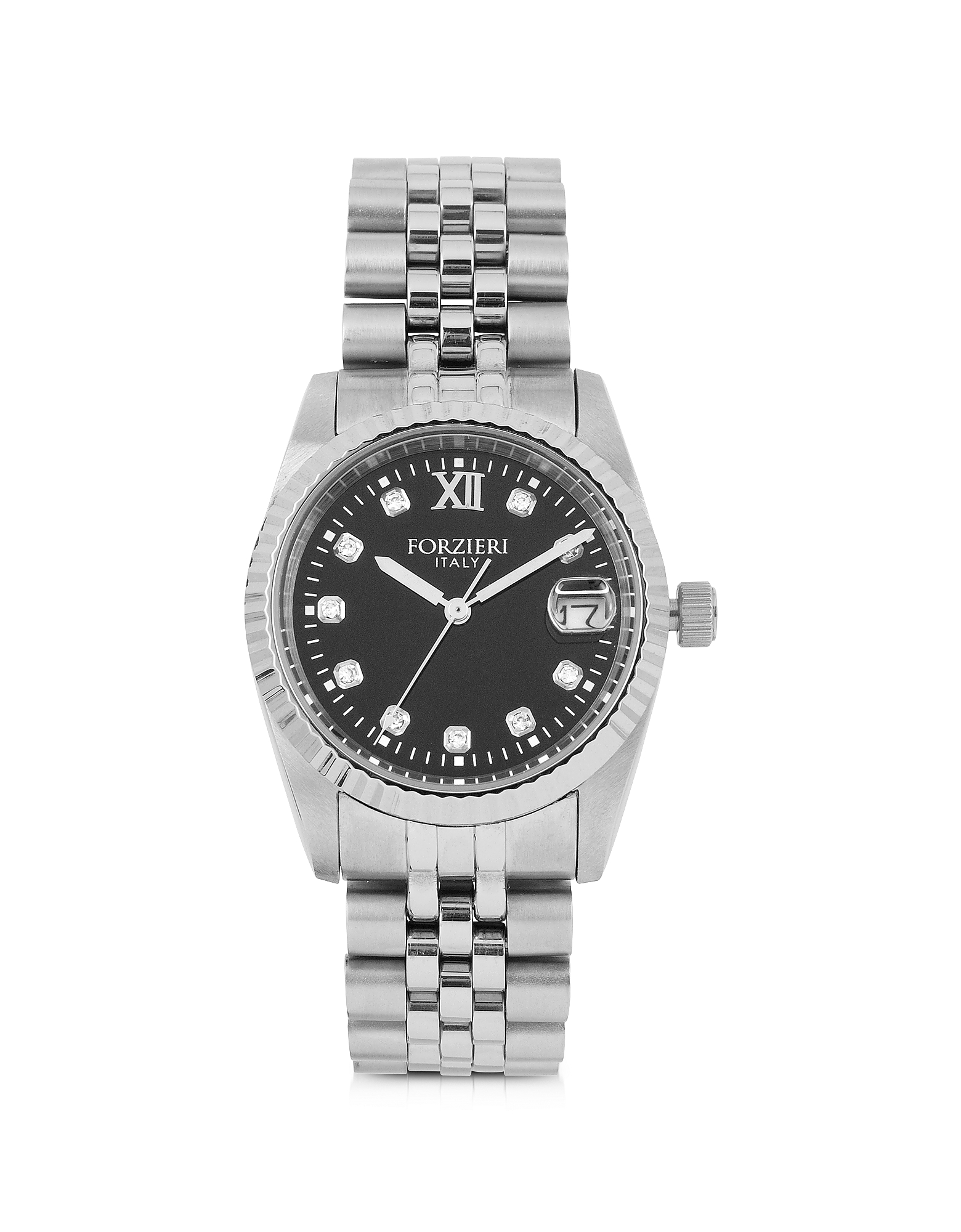 Forzieri Women's Watches, Trevi Silver Tone Stainless Steel Women's Watch