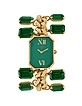 Emerald Crystal Bracelet Dress Watch - Forzieri