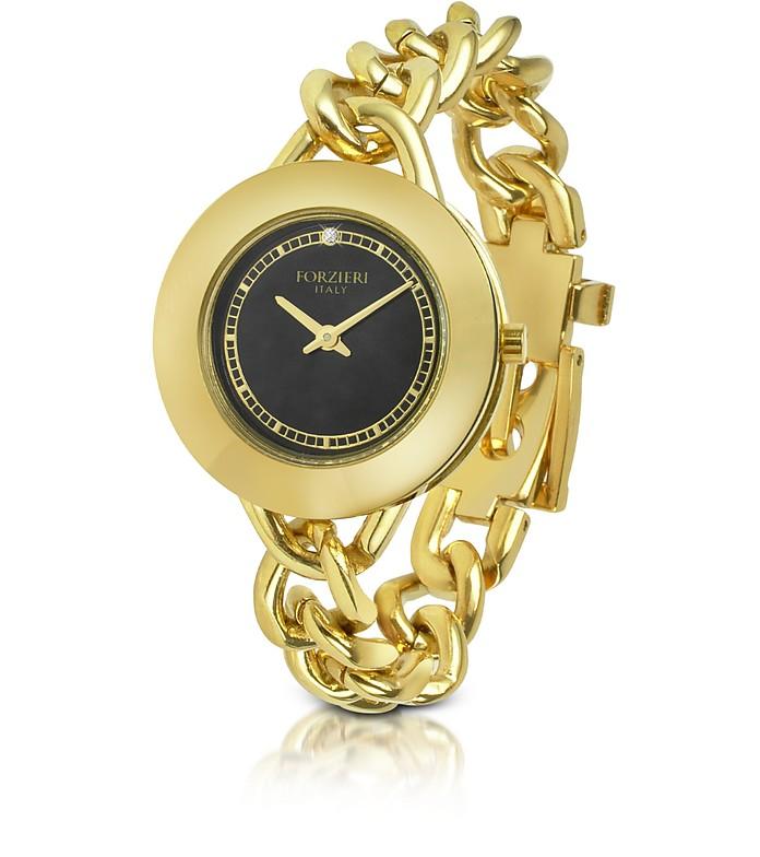 Gold Chain Bracelet Dress Watch - Forzieri