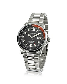 Men's Stainless Steel Bracelet Dive Watch - Forzieri