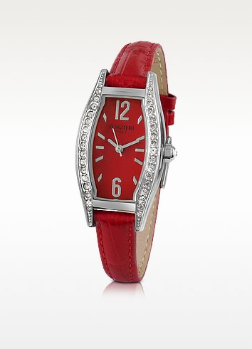 Victoria - Crystal Frame Dress Watch - Forzieri
