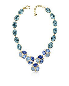 Blue Crystal Necklace - Forzieri